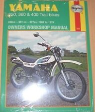 Haynes Manual for YAMAHA DT RT DT250 RT350 DT350 DT360 DT400 models 1968 to 1979