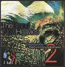 Elephantitis: The Funk House Remixes, by The Brand New Heavies (CD, 2009) NEW