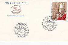 Italy 2005 Commemoration of pope John Paul II  Unadressed FDC