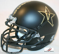 VANDERBILT COMMODORES (BLACK ANCHOR) Schutt XP Mini Helmet