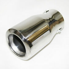 Chrome Exhaust Pipe Sport Muffler Trim Tip For BMW Serie 1 3 5 E36 E46 E21 E30