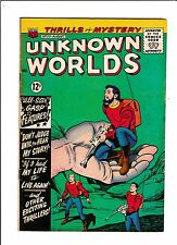 """Unknown Worlds No.33  : 1964 :   : """"Don't Judge Until You Hear My Story!"""" :"""
