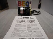 """March Magnetic Drive Pump MDX 1/2"""" or 5/8"""" conn. 1/55 HP 115V .94 Amp NOS"""