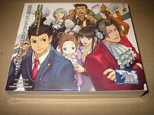 Gyakuten Saiban / Phoenix Wright Ace Attorney Sound BOX Capcom Soundtrack CD