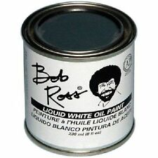 Bob Ross Liquid White 8oz, 236ml brand new in can