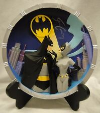 WARNER 2SIGNED By Kevin Conroy BATMAN CATWOMAN COLLECTOR'S PLATE 3D statue Joker
