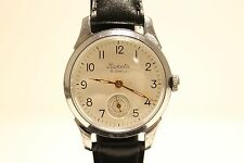 "VINTAGE EARLY CLASSIC SUB SECOND MEN'S USSR RUSSIA MECHANICAL WATCH""RAKETA""16 J"