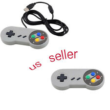 2PCS Super Controller USB Gamepad Joypad for Nintendo Windows Mac SF SNES PC OR