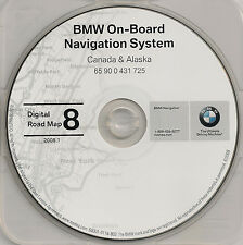 1997 to 2002 BMW 3 5 7 Series X5 M3 M5 & Mini Navigation CD Map CANADA 08 Update