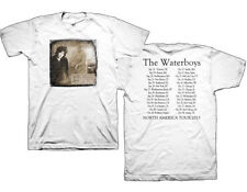 The Waterboys-2013 North American Tour-X-Large White T-shirt
