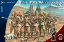 BRITISH INFANTRY AFGHANISTAN & SUDAN 1877-1885 - PERRY MINIATURES SENT 1ST CLASS