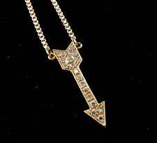MAGNIFIQUE COLLIER OR 18 CARATS - FLECHE EN DIAMANTS 0.95 CARAT