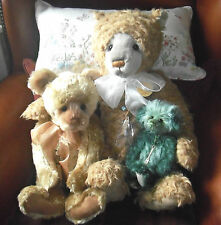 Charlie Bears - Fish, Chip and Mushy Pea With Certificate of Authenticity
