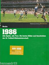 Mexiko Fußball Weltmeisterschaft 1986 Süddeutsche Zeitung WM-Bibliothek NEU! OVP