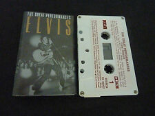ELVIS PRESLEY THE GREAT PERFORMANCES ULTRA RARE NEW ZEALAND CASSETTE TAPE!