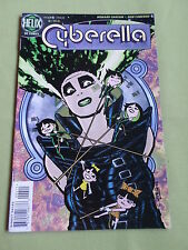 CYBERELLA - HELIX DC COMIC-USA -  DEC 1996 #  4 - VG