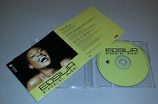 Maxi Single CD  Edsilia - Free Me  2002  3 Tracks MCD E 31