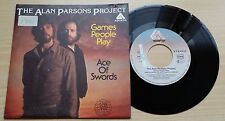 "THE ALAN PARSONS PROJECT - GAMES PEOPLE PLAY - 45 GIRI 7"" - GERMANY PRESS"