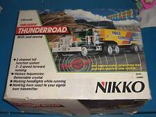 90'S VINTAGE NIKKO THUNDERROAD TRUCK MACK 1:25 R/C TOY RADIO CONTROL 25016 MIB