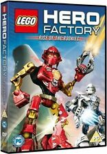 LEGO: HERO FACTORY: RISE OF THE ROOKIES (DVD 2011) NEW/SEALED