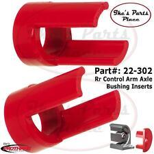 Prothane 22-302 Rear Control Arm Axle Inserts 85-95 VW Golf/GTI/Jetta/Corrado