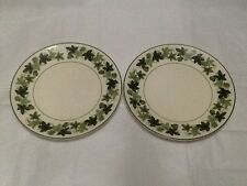 """Taylor Smith Taylor """"Greenbriar"""" Pair Of 2 Salad Or Luncheon Plates 8 1/2 Inches"""