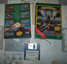"COMODORE AMIGA ""HEROQUEST RETURN OF THE WITCH LORD"" VERSION ESPAÑOLA"