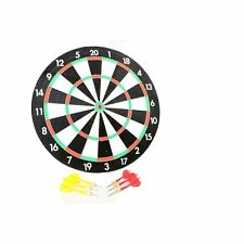 Beginners Set Game Room Double Sided Dart Board and Darts CHRISTMAS -S