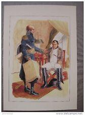 Napoléon Bonaparte et Davout le soir de la bataille de la Moskova 7 sept 1812
