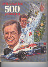 1978 Indianapolis 500 Yearbook Carl Hungness Al Unser