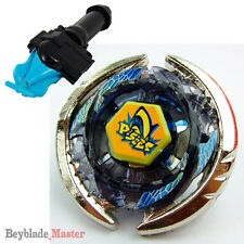 Fusion METAL Beyblade Masters BB-57 THERMAL PISCES+BLUE STRING LAUNCHER+GRIP