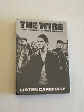 The Wire - The Complete First Season (DVD, 2015, 5-Disc Set) BRAND NEW - SEALED