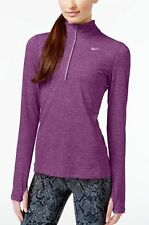 NWT Nike Element DriFit Half-Zip Pullover 685910-514 Purple Dusk Heather $65 XL