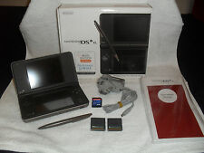 Boxed DSi XL (DSIXL) Dark Brown Handheld Console System complete in box (CIB)