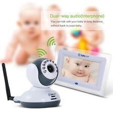 SUNLUXY 2,4 G Digital Kamera 7 Zoll TFT LCD Video Baby Monitor mit Nachtsicht