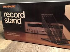 "Vintage Dynasound Record Stand Holds 30 12"" Albums New In Box"