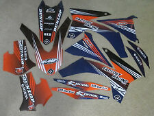 FLU TEAM  PTS2  KTM  GRAPHICS   2012  2013 XCW XCWF EXC ALL FULL SIZE MODELS