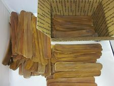 100 Hard Wood Incense Stick Holders Ash Catcher Handmade India WHOLESALE LOT NOS