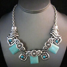Signature Silver Brighton Bay Turquoise Bead Glow Teal Bead Necklace