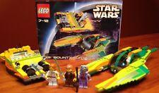LEGO STAR WARS EPISODE II 7133 BOUNTY HUNTER PURSUIT - COMPLETE W INSTRUCTIONS