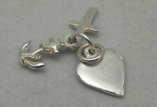 STERLING SILVER FAITH HOPE & CHARITY  CHARM