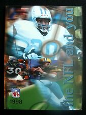 1998 THE NFL & YOU PROMOTIONAL YEARBOOK FEATURING BARRY SANDERS COVER