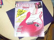 GUITAR MAGAZINE aug. 1987 STRAT MANIA cover, with david bowie, excellent cond