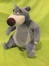 "BE-BOPPIN BALOO Bear Talking Singing Jungle Book Disney 12"" Plush Stuffed Animal"