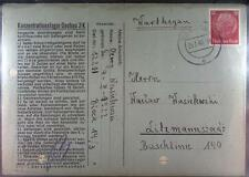 Concentration Camp Dachau 1940 Konzentrationslager Holocaust Judaica jewish POW