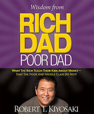 Wisdom from Rich Dad Poor Dad Robert Kiyosaki Free UK Delivery miniature