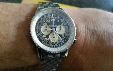 breitling navitimer cosmonoute chronograph watch ref a12022 with breitling box