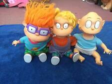 Vintage 1993 Rugrats Nickelodeon Applause Doll Set Of 3 ! Rare! Tommy! Chucky!