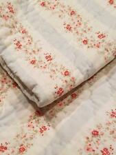Rachel Ashwell Simply Shabby Chic Ditsy Daisy Stripe Floral Twin Quilt Set Exc