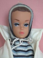 Vintage barbie #975 vacances d'hiver 1959-1963 fashion + fashion queen doll 1963